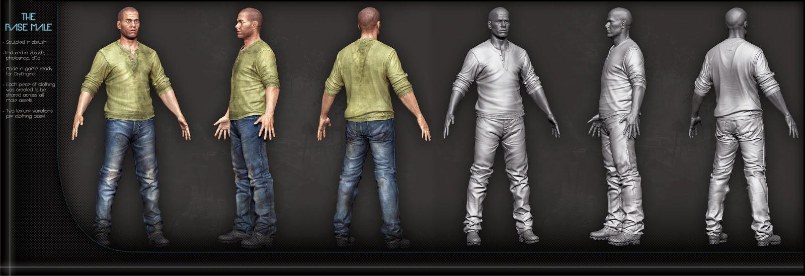 Male Clothing Designer Game Base Male Base nude body and
