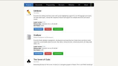 OraBone, Database Tool