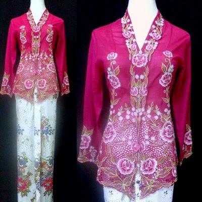 Foto Baju Batik Kebaya
