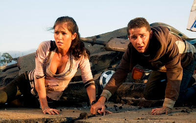 Shia LaBeouf and Megan Fox in Transformers: Revenge of the Fallen (2009)