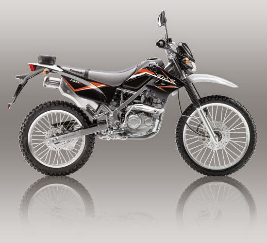 Kawasaki KLX 150L Hitam