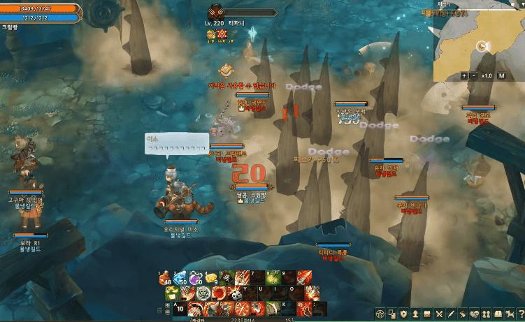 Tree of Savior Guild vs Guild