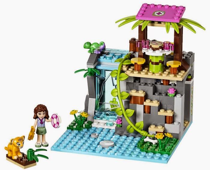 JUGUETES - LEGO Friends  41033 Selva : Rescate en la catarata  Producto Oficial | Piezas: 183 | Edad: 6-12 años