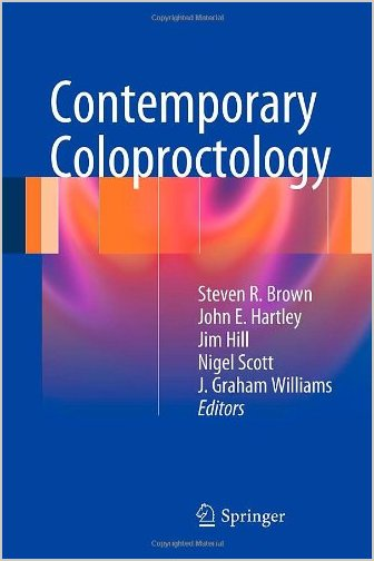 Contemporary Coloproctology 2012 Edition PDF