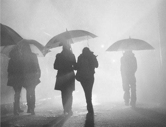 Rain, light & fog