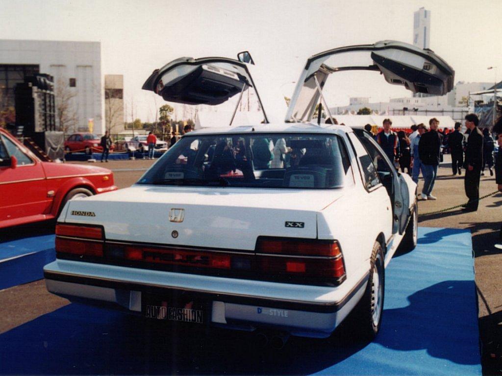 Honda Prelude, gullwing, drzwi, tuning, przeróbka, modyfikacje, japoński sportowy samochód