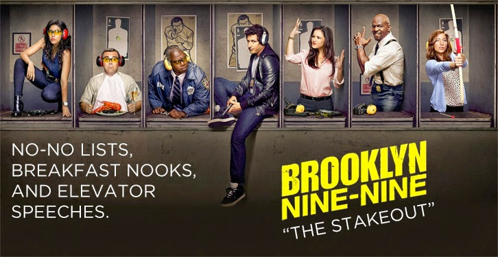 Brooklyn Nine-Nine - The Stakeout - Review
