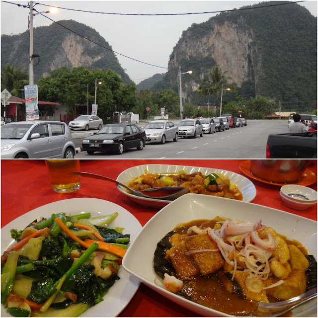 Ipoh is surrounded by limestone caves, mountains and good food in Perak, Malaysia