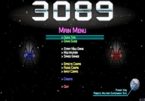 3089 – Futuristic Action RPG