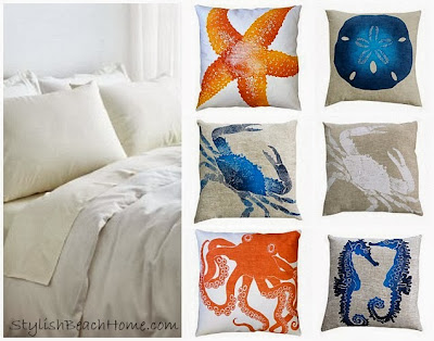 Coastal Bedroom accessories