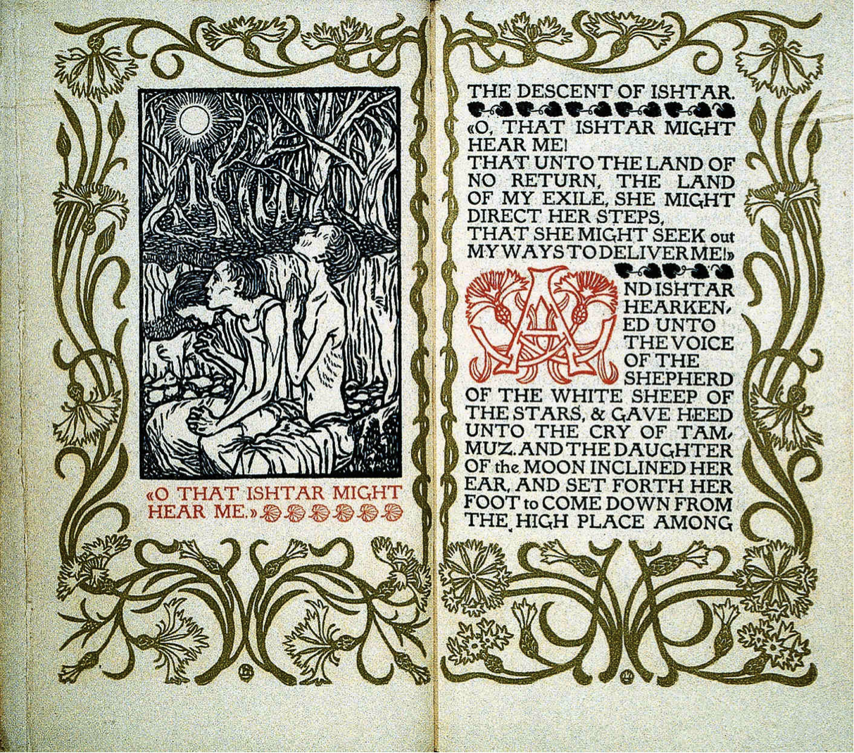 Having a look at history of graphic design the private for Arts and crafts movement graphic design