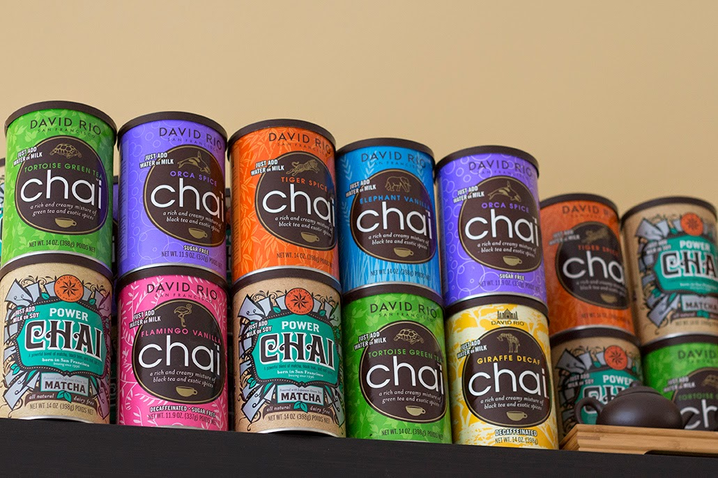 cans of chai tea