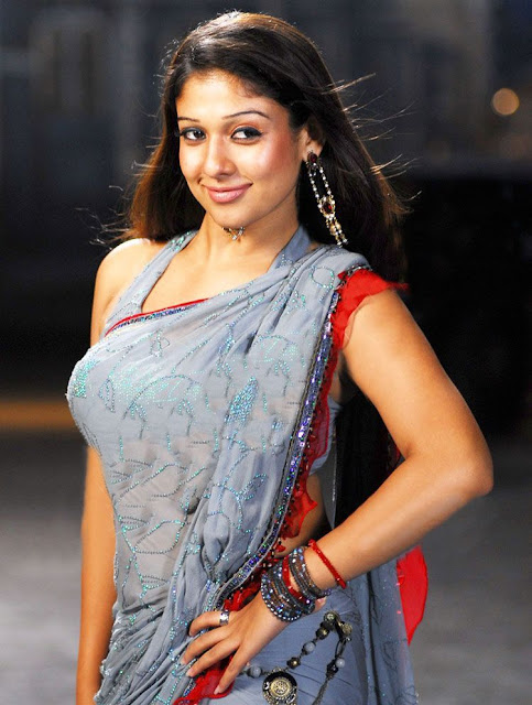 Nayanthara Very Hot Pics In Saree