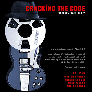 Cracking the Code the new album from Stephen Dale Petit