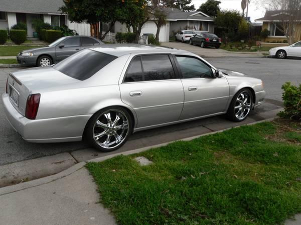 Sj Cars 4 Sale 2000 Cadillac Deville Dts 22 Inch Rims
