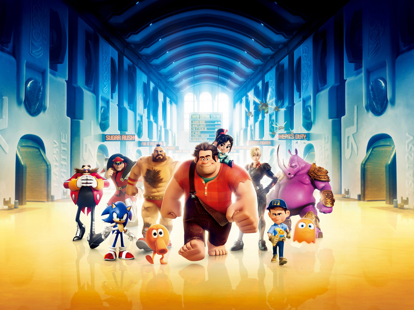 Disney wreck it ralph 3d animation hd wallpapers