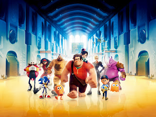 Wreck It Ralph 3D Characters HD Wallpaper