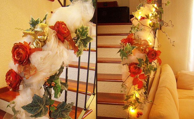 Ideas decorar la casa en navidad ideas para decorar - Escaleras decoradas en navidad ...
