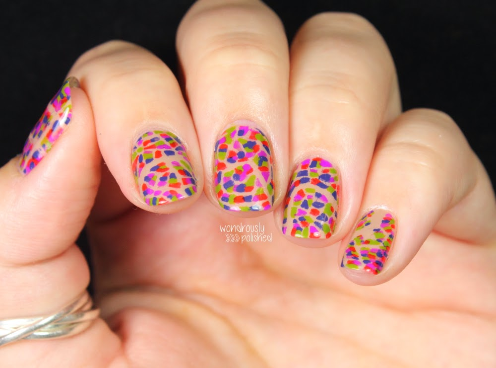 Wondrously Polished: Habit Cosmetics - Nail Art, Swatches and Review