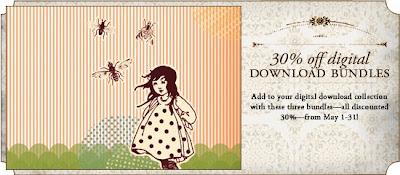 Stampin' Up! digital download 30% off promotion banner