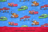 Cars and red flannel
