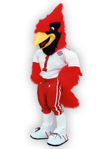 Big Red mascot of the Arizona Cardinals of the NFL