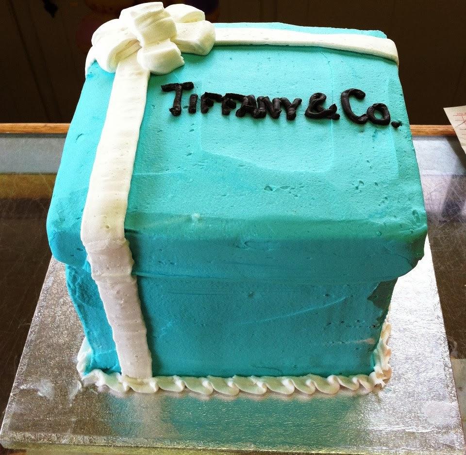 tiffany & co box birthday cake