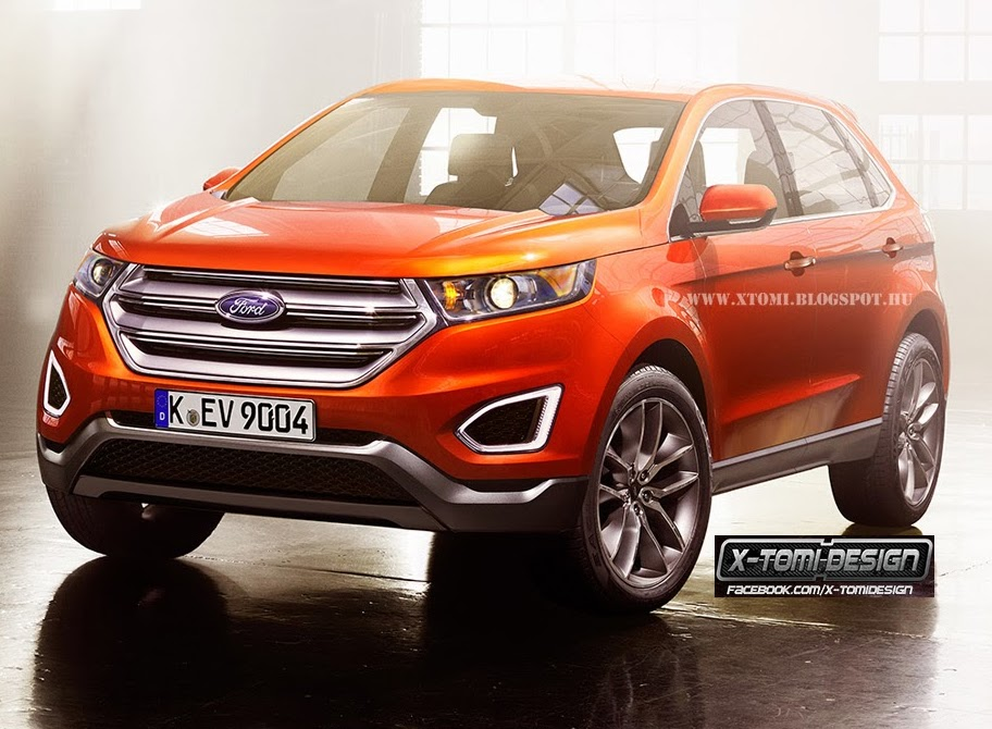 New Car Love: 2014 Ford Edge Changes