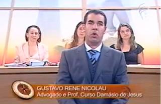Gustavo Rene Nicolau no Saber Direito