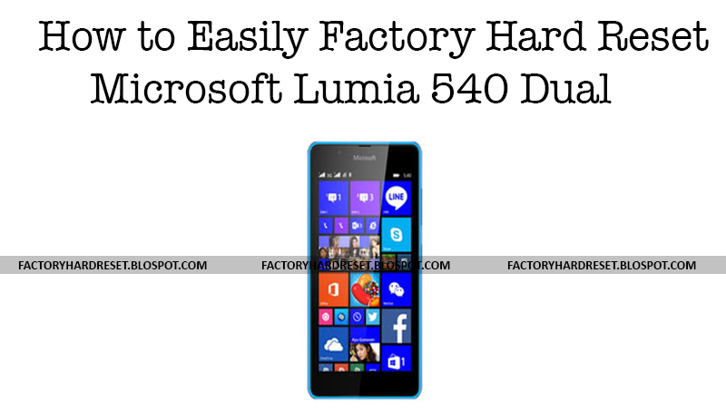 how to factory reset microsoft lumia are
