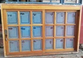 vitro com vidro jateado 100x150