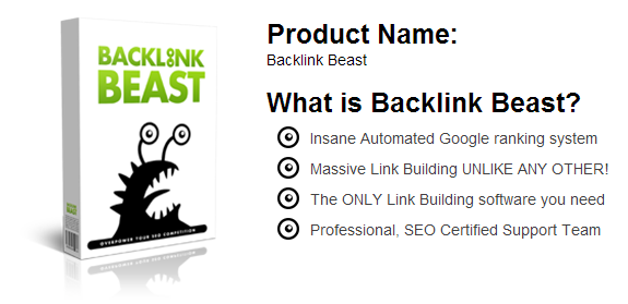 Backlink beast Software SEO Full Crack