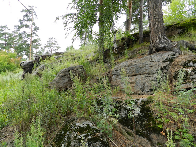 Скалы у подножия