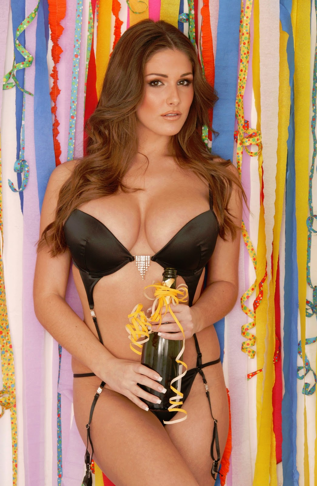not only Lucy Pinder: Lucy Pinder. Merry Xmas.