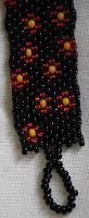 Peyote stitch beaded bracelet