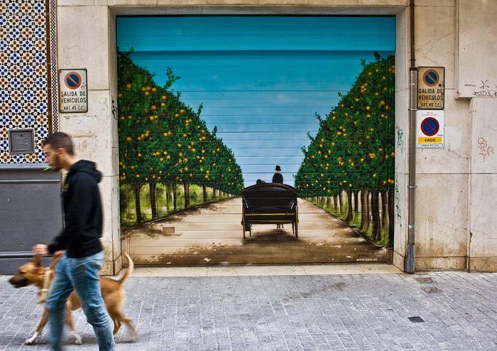 Arte callejero, Puerta hacia la Naturaleza