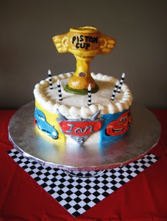 Cakes Racing Cars