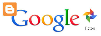 Logotipos google+ fotos y Blogger