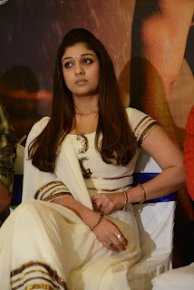 Nayanthara stills At Krishnam Vande Jagadgurum Success Meet (21)