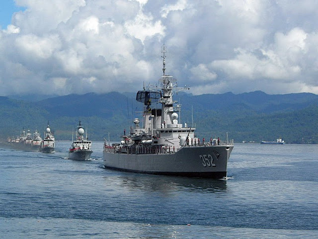 Armada Kawasan Barat (Armabar) TNI-AL Fokus Jaga Laut China Selatan