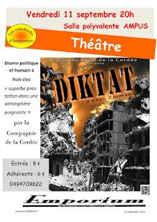 L'affiche DIKTAT signée Emporium