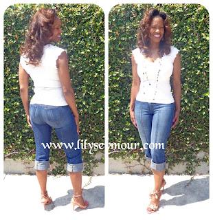 Capri Jeans and FOTD