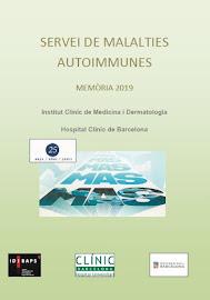 Servei de Malalties Autoimmunes-Memòria 2019