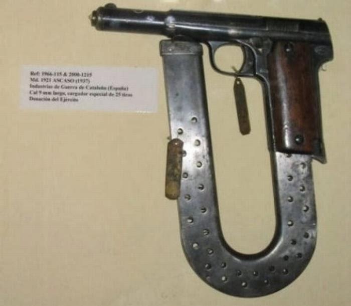 U Shaped Pistol Magazine