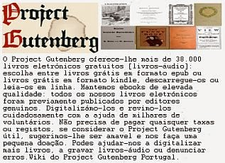 Project Gutenberg - Portugal