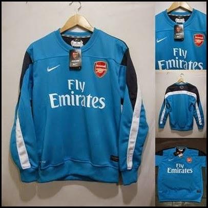Sweater GO Arsenal Biru Putih