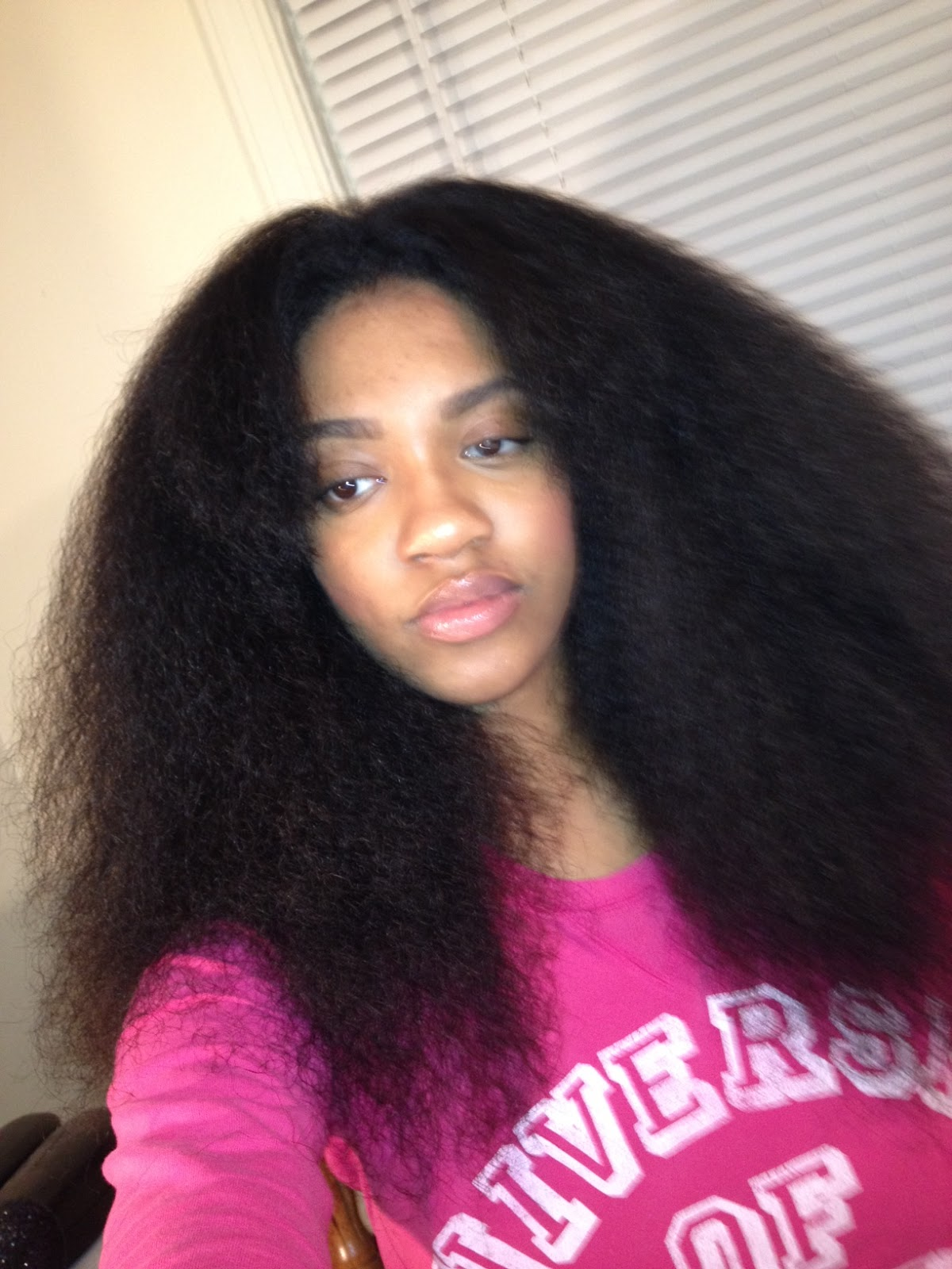 How i Flat iron my Natural Hair   Styled by Kami ...