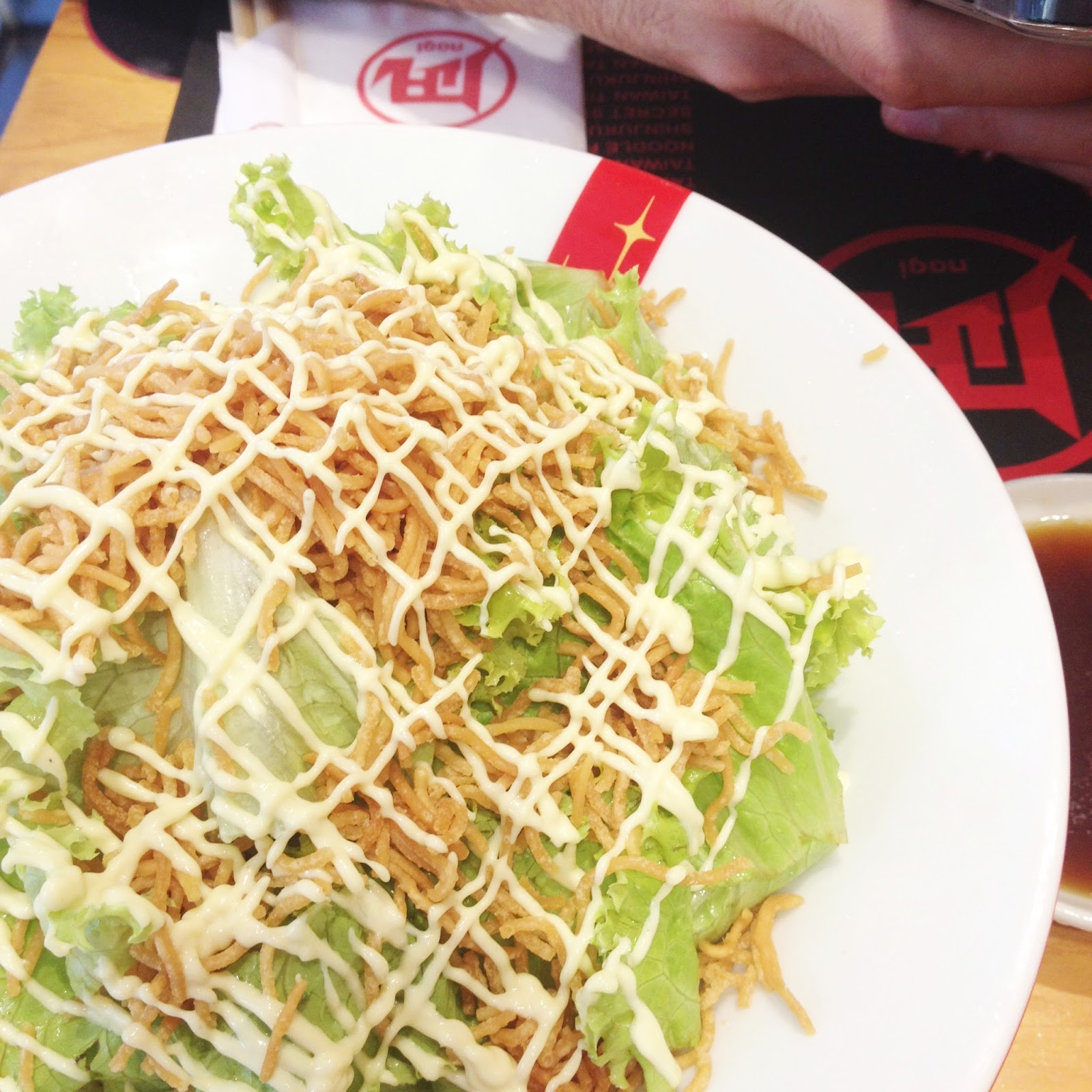 ramen nagi star salad