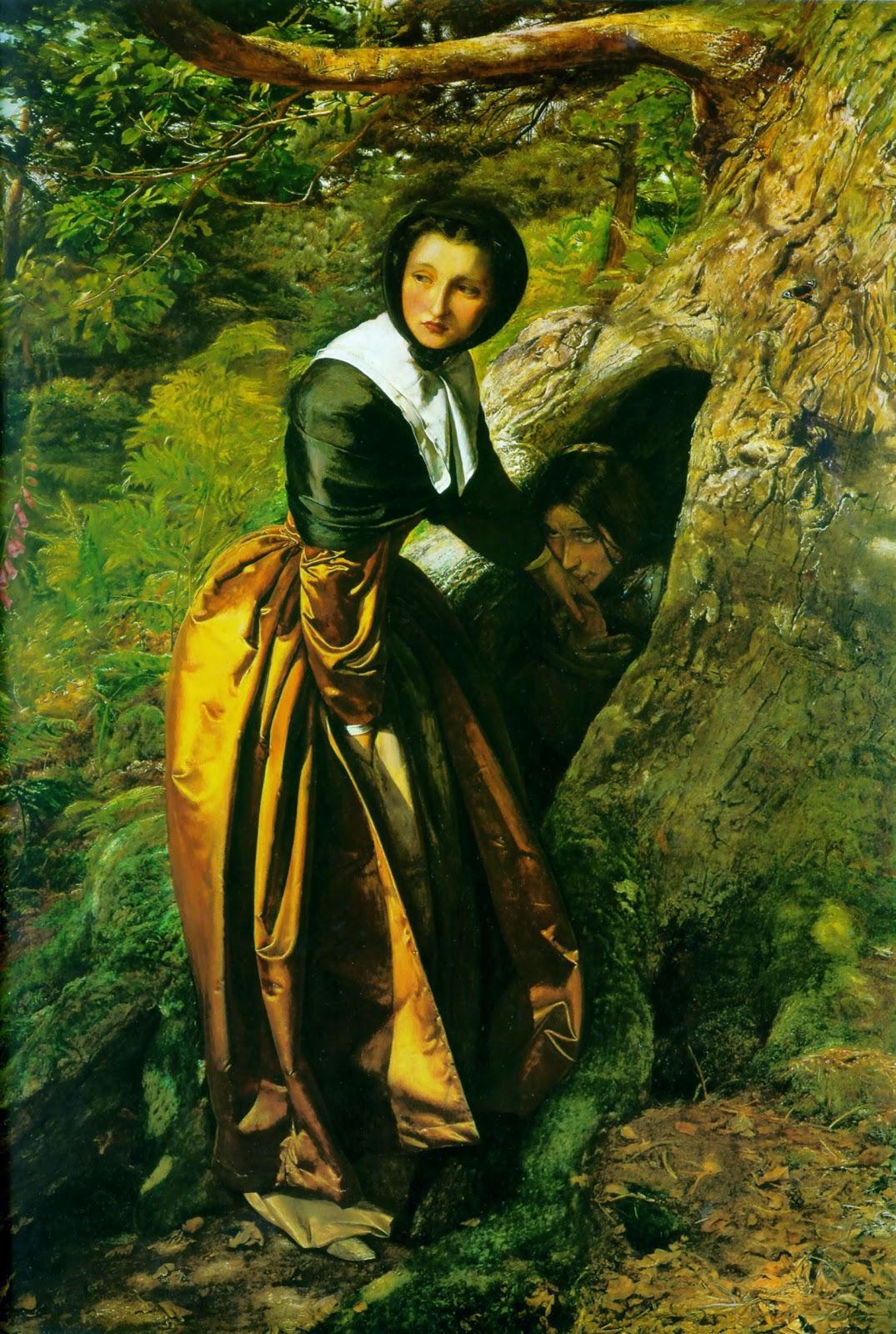 Ophelia Painting Arthur Hughes Arthur hughes meets millaisOphelia Painting Arthur Hughes