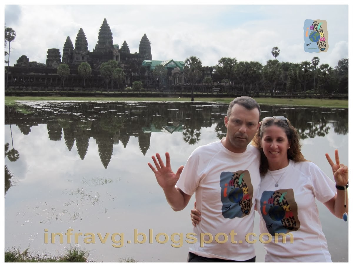 Angkor Wat, 7ª Maravilla.